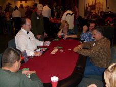 Grand Prarie blackjack table