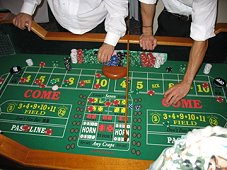 Craps table rentals Dallas