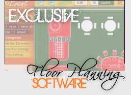 Plan your next Casino Event using our Exclusive Casino Floor Planning Software