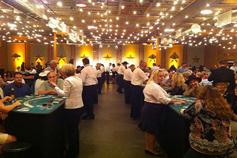Casino Party at Convention Center