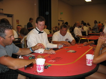 Several Poker Tables