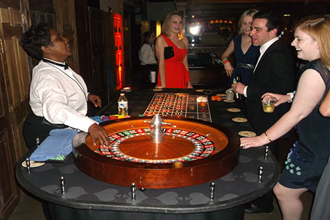 Roulette at Birthday Party